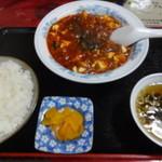 蘭蘭 - 陳麻婆定食(メニュー記載無し)¥1220☆