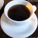 トラットリア シェ ラパン - プレミアムランチ(1350円)♪ フリードリンクはコーヒー、紅茶、オレンジジュースとホットコーヒー☆彡