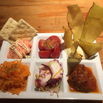スペイン食堂MARU。個室×炭火焼 バル - 前菜盛り合わせ780円