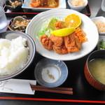 味菜 - 料理写真:唐揚げ定食