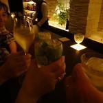 バー プリベ - NYさんの全快祝い!乾杯