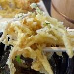丸亀製麺 - ゴボウのかき揚げは、うどんのつけ汁で