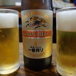 味処長誉 - 瓶ビール