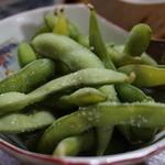 味処長誉 - 枝豆