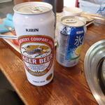 肉のオカヤマ直売所 - 缶ビール・酎ハイ