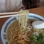 生姜ラーメン みづの - 麺