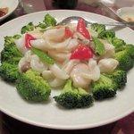 42039099 - 三種海鮮の炒め