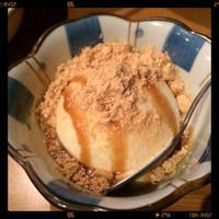 がんばれニッポン馬肉道場 馬喰ろう-きな粉アイス