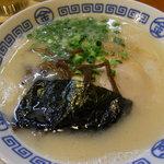 まるきんラーメン - まるきんラーメン(麺ハリガネ)