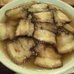 麺家 西陣 - 20150918 午後1時半 肉そば醤油普通盛り950円