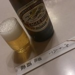 岩滝酒蔵 - ドリンク写真:瓶ビール。。。