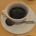 オステリア・ラ・ピリカ - あおさのスープ