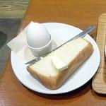 Sign - トーストモーニングセット450円