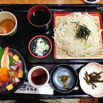 庄内庵 - 料理写真:庄内庵御膳(麦きり選択)(2015年9月)