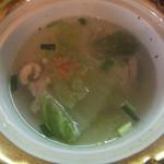 ジャンジャーオ - スープ、あっさりさっぱりで美味い(2015.9.15)