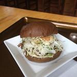 蕎麦処 瑠瞳 - はこだて和牛バーガー  500円