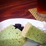 茶房 木・木 - Aランチは飲み物とデザート付。これで900円は安いと思います!