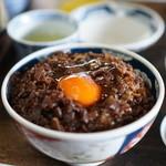 松尾食堂 - 肉丼