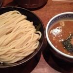 三田製麺所 - つけ麺中盛り300g 730円(税込)