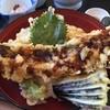 レストラン美浜 - 料理写真:ハモ天丼