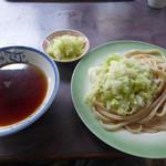 白須うどん - つけうどん(400円)_2015-09-05
