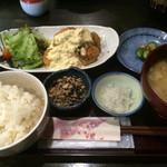 でんでんでん - チキン南蛮定食(1200円)