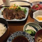 42056408 - 【料理】牛タンとろろ定食
