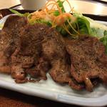 42056411 - 【料理】牛タンとろろ定食