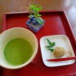 Cafe&gallary 楠 - 抹茶(和菓子付)
