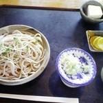 手打そば処 しま祢 - 料理写真:田楽そば ¥700