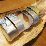42056991 - 鯖寿司 持ち帰りました