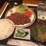 ピカドン - バラカツ定食(¥700)