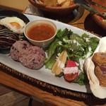 モアナキッチンカフェ - テリヤキロコモコ