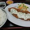 Umikajishokudou - 料理写真:'15年9月 南蛮カツ定食・790円