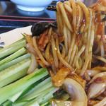 天順居 - 料理写真:しゃんしゃん麺780円。名前に惹かれて注文。