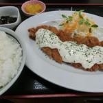 42059646 - '15年9月 南蛮カツ定食・790円