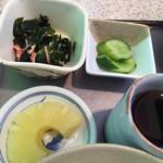 豚太郎 - 定食の小鉢