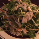 サラサ麩屋町Pausa - 自家製鶏ハムのサラダ