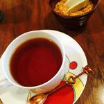 古民家 そらCafe - 紅茶はアールグレイ