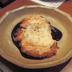 和楽 - 阿波尾鶏のチーズ京味噌焼き