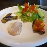 フィオリーレ - コースの前菜