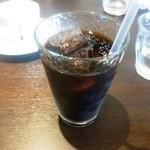 フィオリーレ - コースのドリンク(アイスコーヒー)