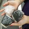 金井米穀店 - 料理写真:塩雑穀、しそ雑穀、のり佃煮