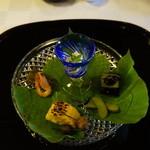 筑紫亭 - 鱧の真子と季節の恵み