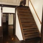 筑紫亭 - 階段