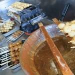 42067931 - 五平餅を焼いています☆