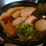 麺堂かのん - 醤油肉そば味玉トッピングH27.9