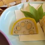 日本料理 さか本 - からしレンコン