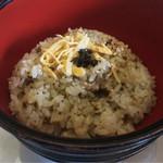日本料理 さか本 - 高菜飯
