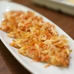 おんがね十番 - 桜海老のチヂミ